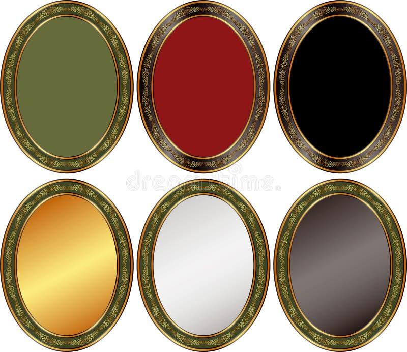 Download Oval background stock vector. Image of design, border - 27096390