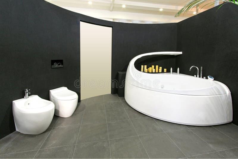 Oval bathroom royalty free stock photo