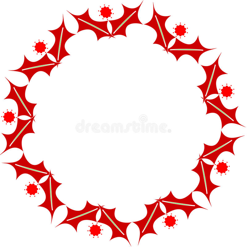Free Oval Christmas Frame Stock Images - 11772094