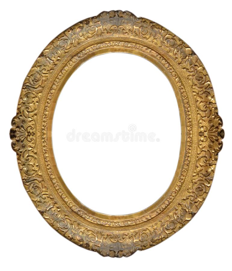 Oval frame stock images