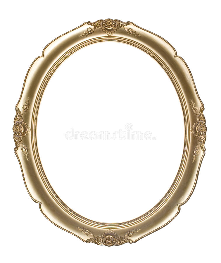 Oval photo frame (clipping path)