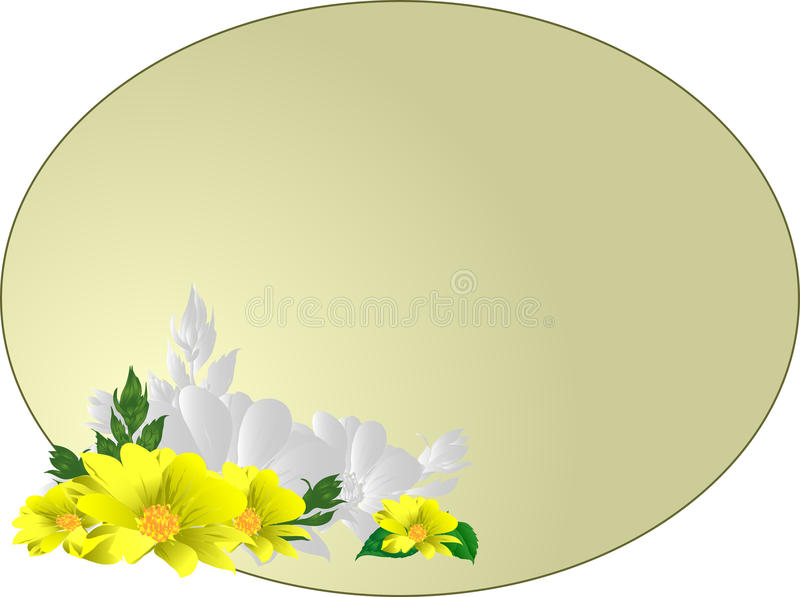 Oval1 royalty free stock photo
