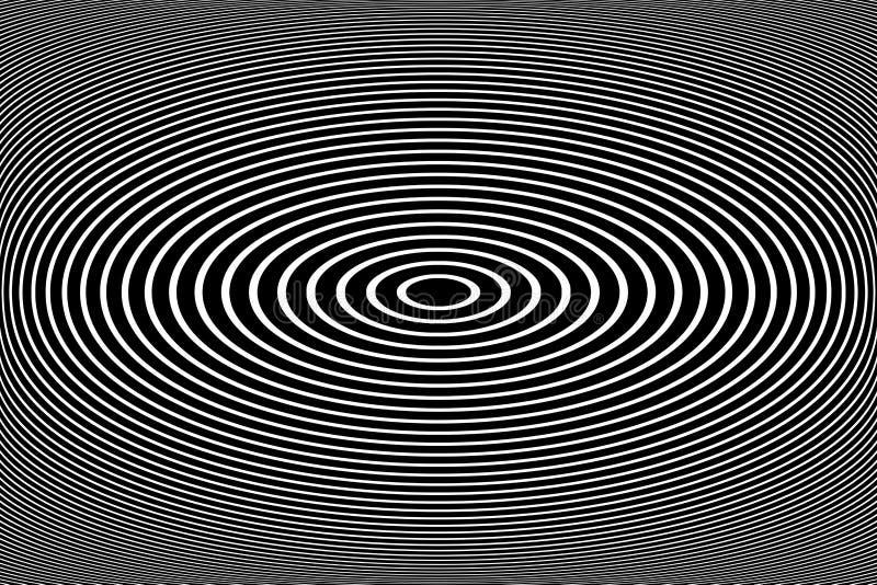 Ovala linjer modell och textur Abstrakt design fotografering för bildbyråer