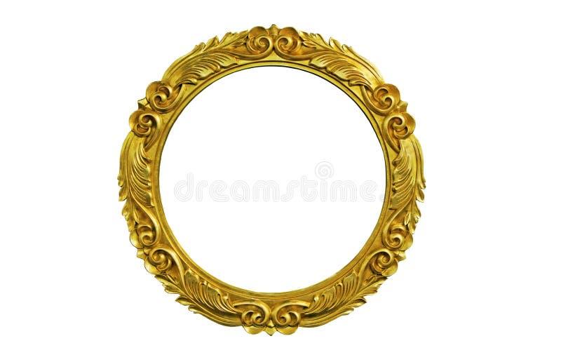 Ovale omlijsting royalty-vrije stock foto
