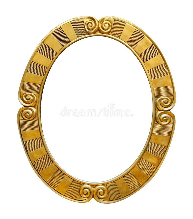 Ovalen föreställer inramar arkivfoto