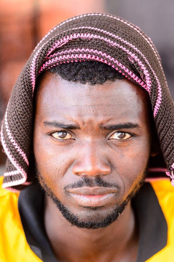 Ovambo-Leute von Namibia stockbild