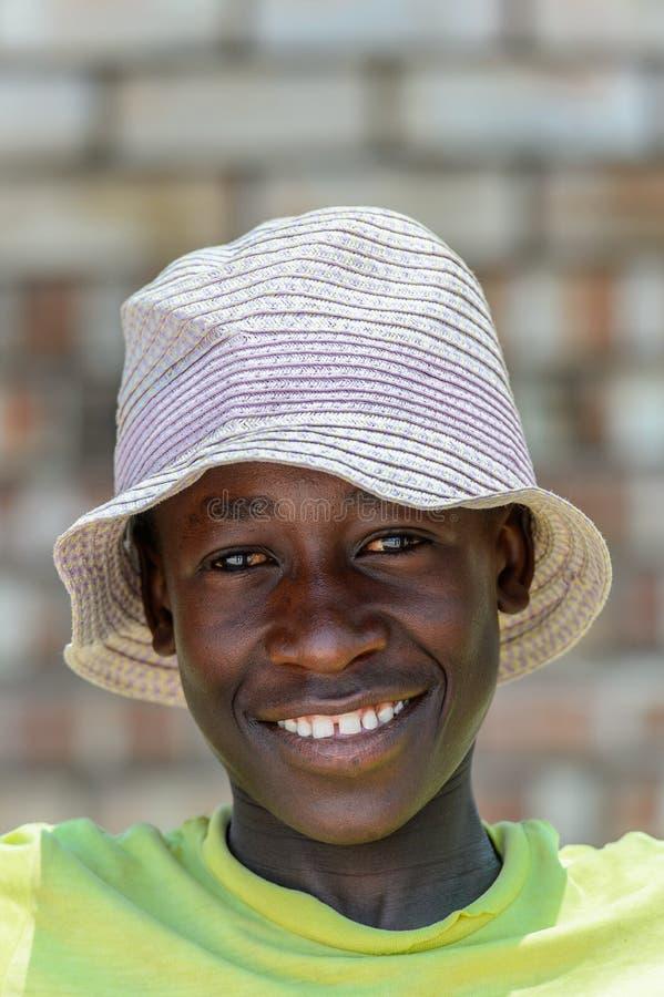 Ovambo-Leute von Namibia lizenzfreie stockbilder
