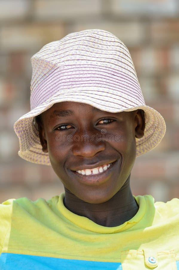 Ovambo-Leute von Namibia lizenzfreies stockfoto