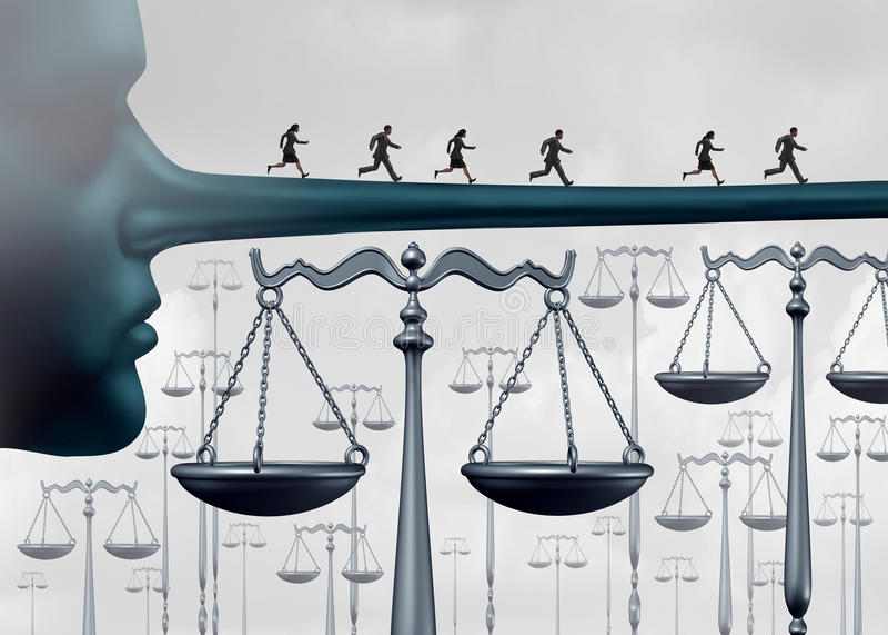 Ovanför lagen stock illustrationer