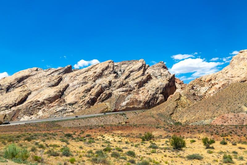 Ovanligt vagga bildande i Utah royaltyfria bilder