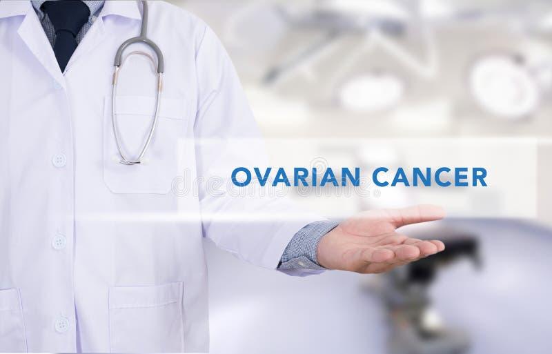 Ovariaal Kankerconcept royalty-vrije stock afbeelding