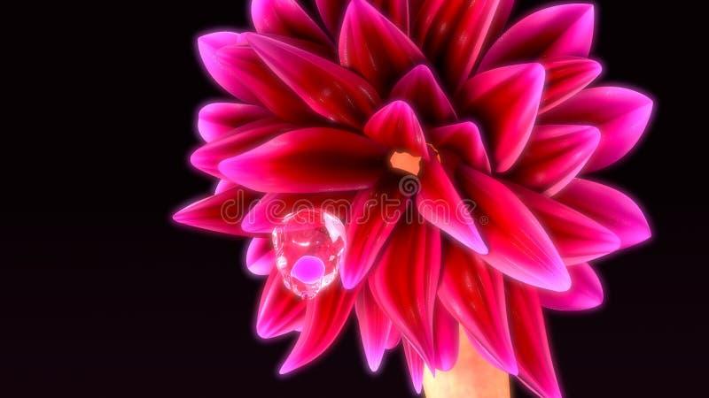 Ovary cyst stock image