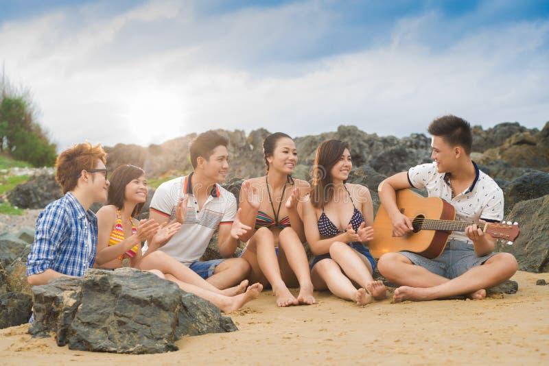 Ovazioni di Friends? fotografia stock