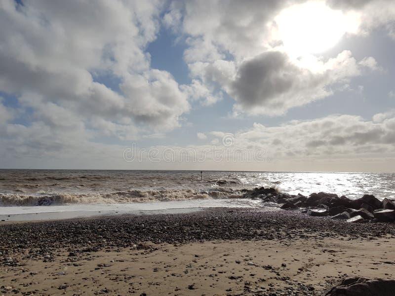 Ovee de la nube el sol fotografía de archivo libre de regalías