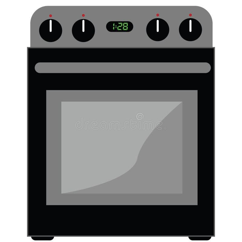 Oven stock illustratie