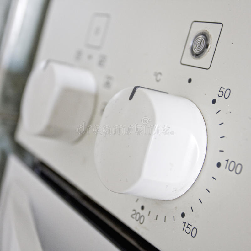 Oven controls royalty free stock images