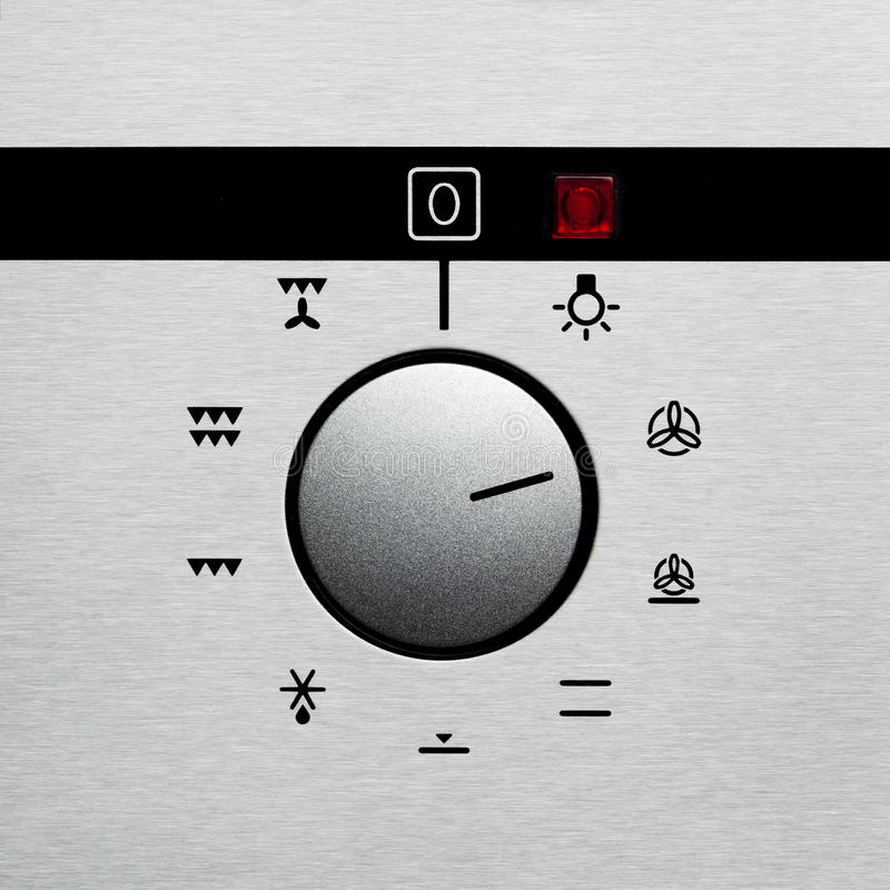 Oven dial 2 stock photos