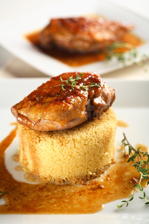 Free Oven Duck Breast Royalty Free Stock Photo - 2004795
