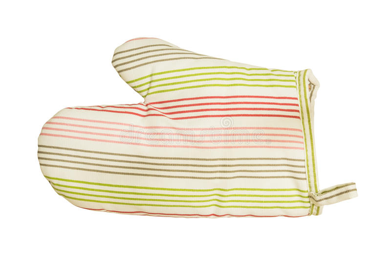 Oven glove. This image contain clipping path royalty free stock photos