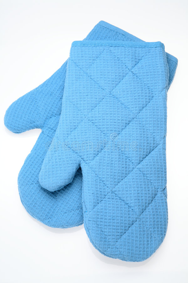 Oven Gloves royalty free stock photo