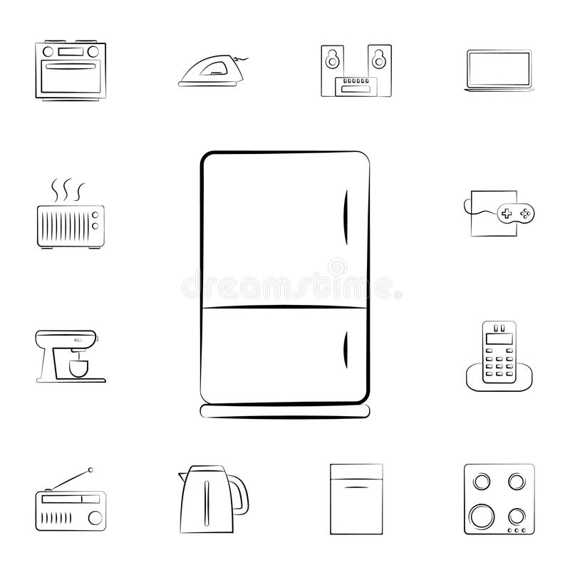 oven icon. Detailed set of home appliances. Premium graphic design. One of the collection icons for websites, web design, mobile a vector illustration