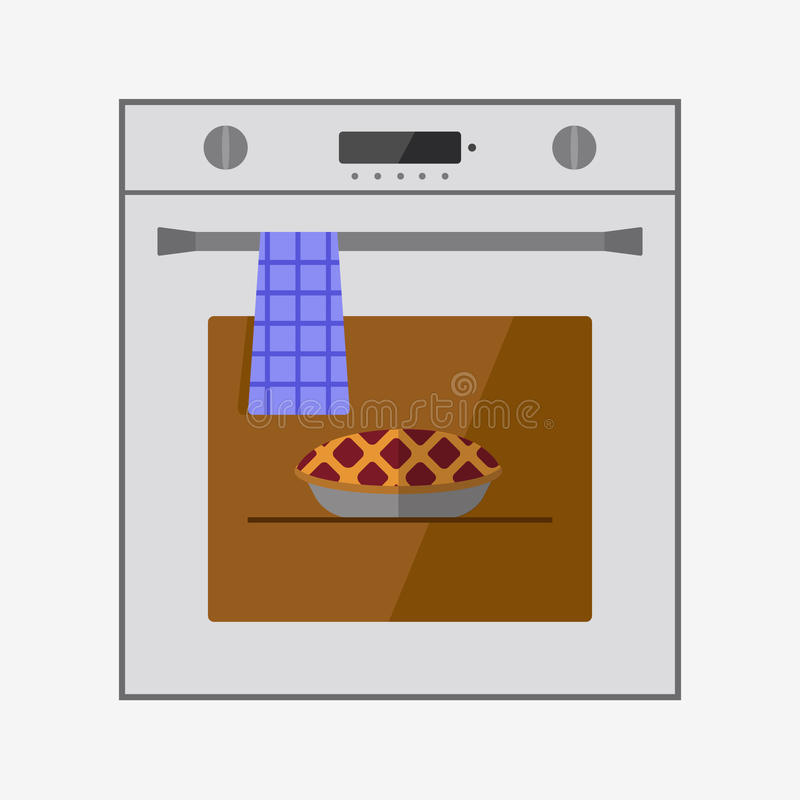 Oven icon stock illustration