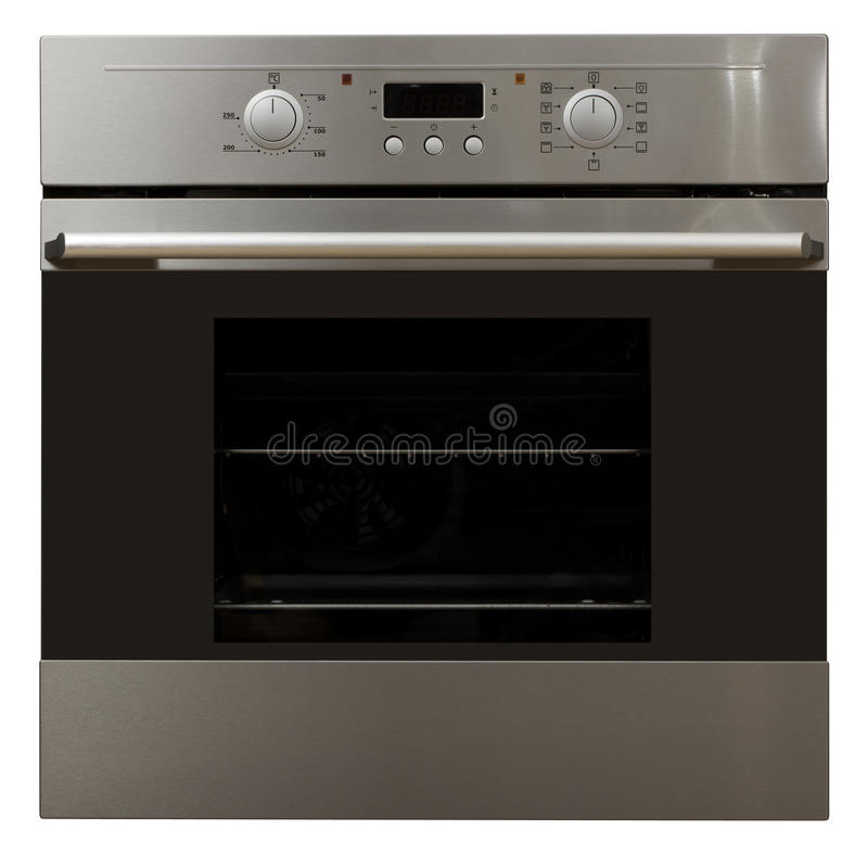 Free Oven In Stainless Steel Finish Stock Images - 18929324