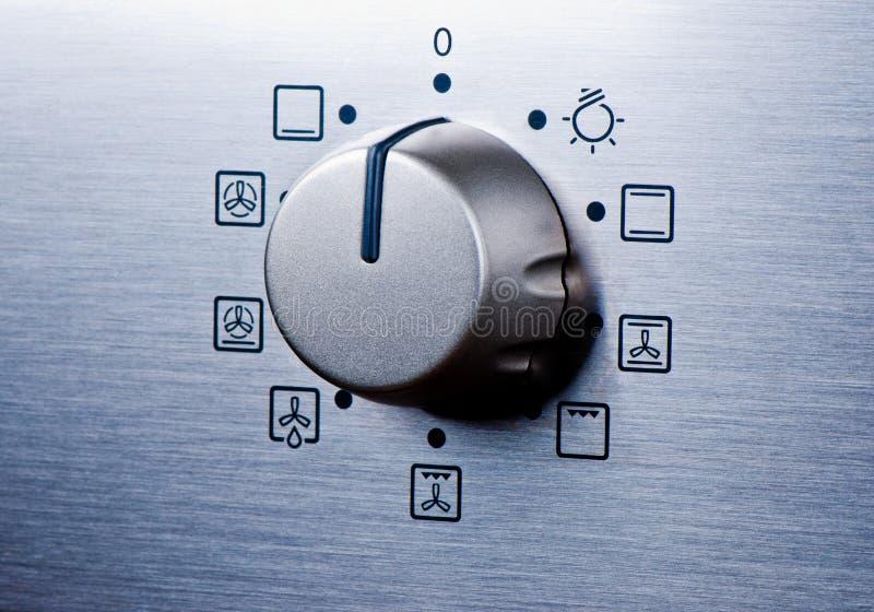 Download Oven knob stock illustration. Image of close, stove, closeup - 22353343