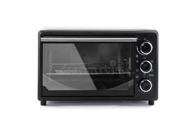 Oven mini elektrisch stock foto's