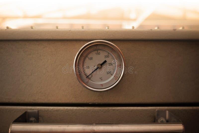 Oven Thermometer för bagerit, värmenivåmeter royaltyfria bilder