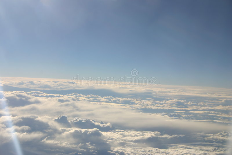 Download Over the clouds stock photo. Image of skies, layers, vapour - 20260