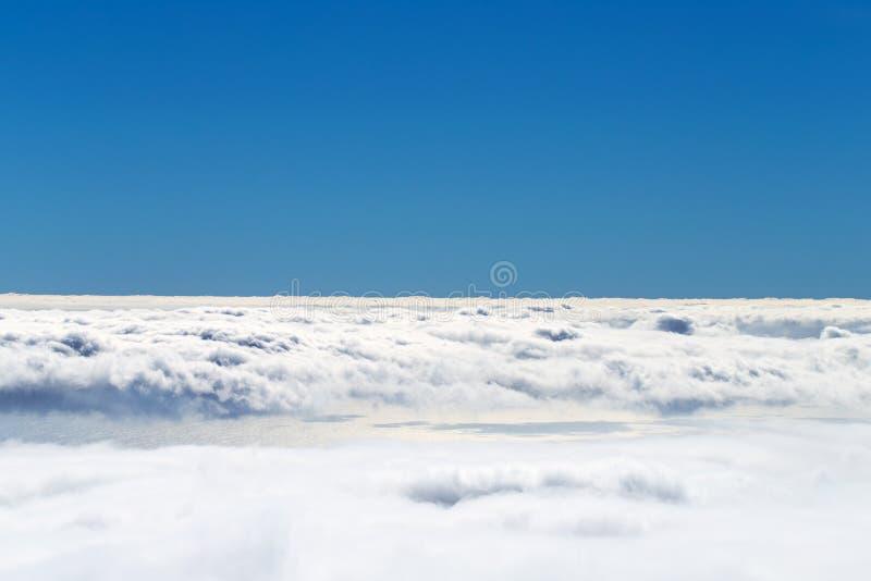 Over de wolken, Madera, Portugal stock afbeelding