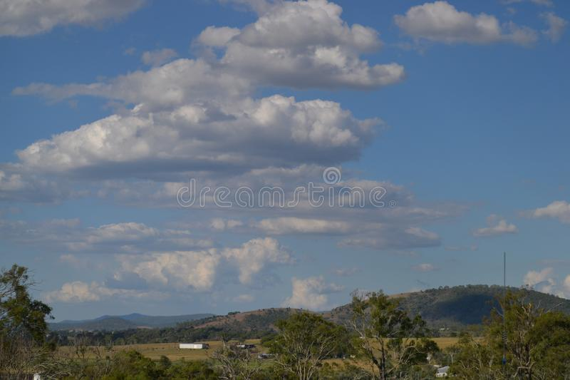 Over the hills and far away royalty free stock images