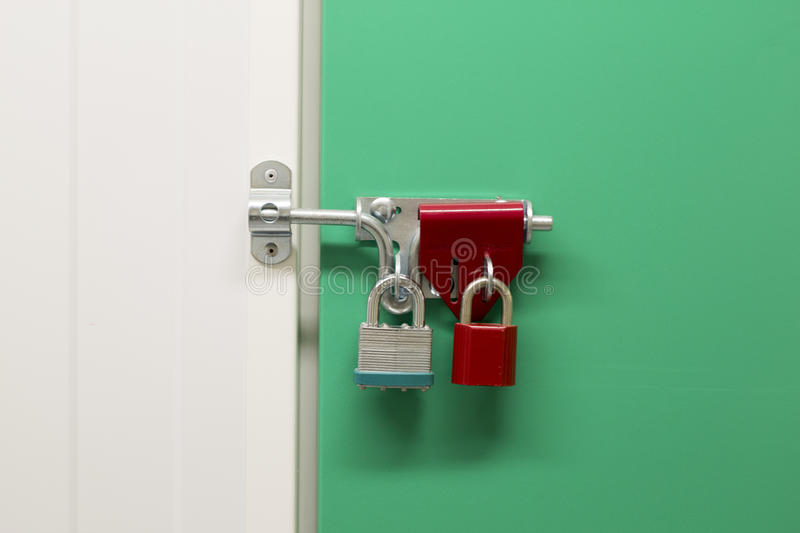 Download Over locked Storage unit stock photo. Image of debt, padlock - 39505892
