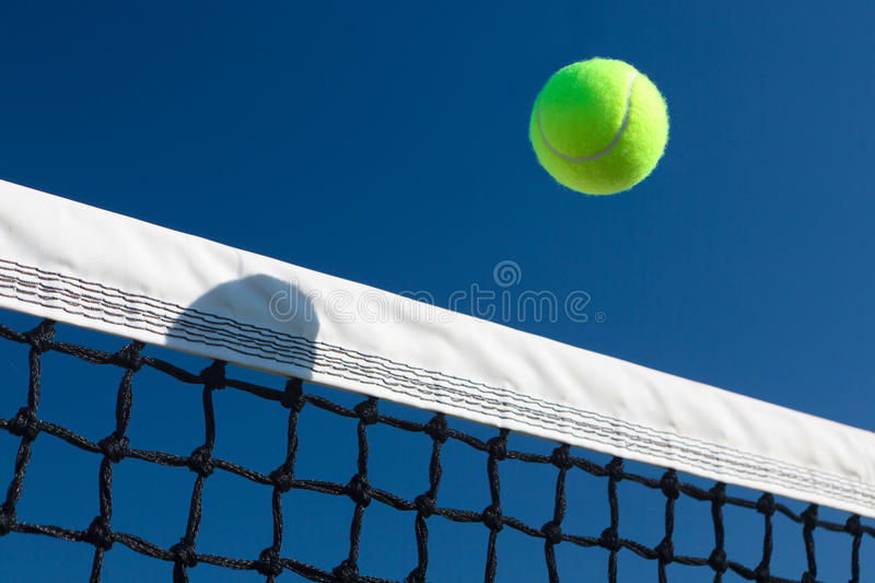 Over the Net royalty free stock image