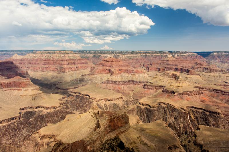 View over the Grand Canyon. stock images