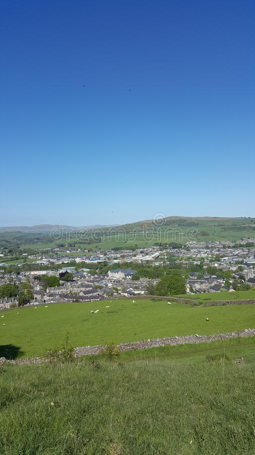 Over view of Kendal royalty free stock photo