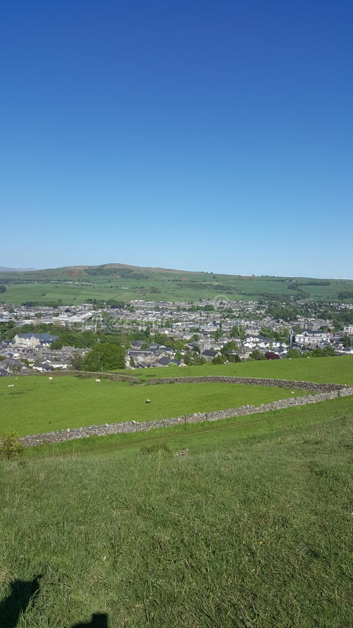 Over view of Kendal royalty free stock photography