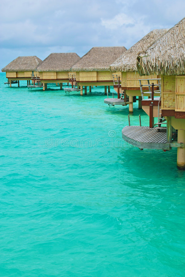 Free Over Water Bungalow 2 Stock Photography - 8331822
