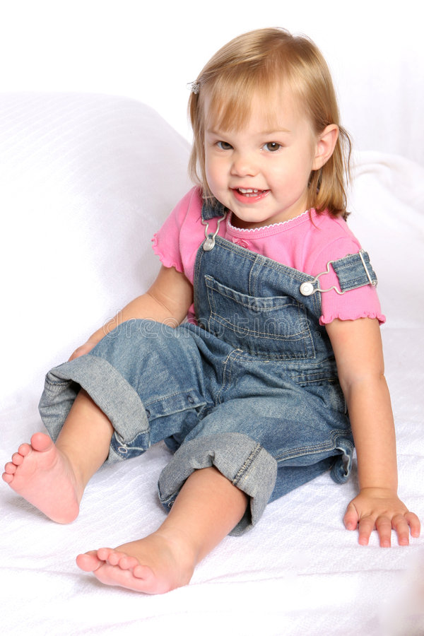 Overall Girl1 stock photography