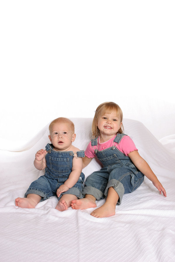 Overall siblings1 stock photos