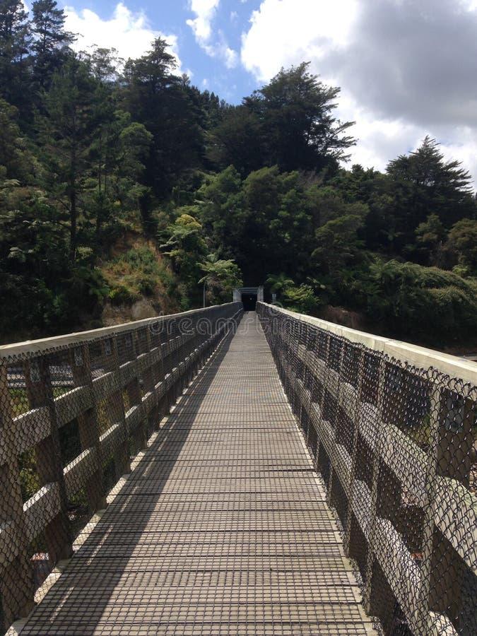 Overbridgegang Karangahake royalty-vrije stock afbeelding