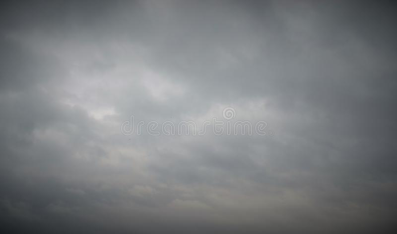 Overcast облачного неба стоковое фото rf