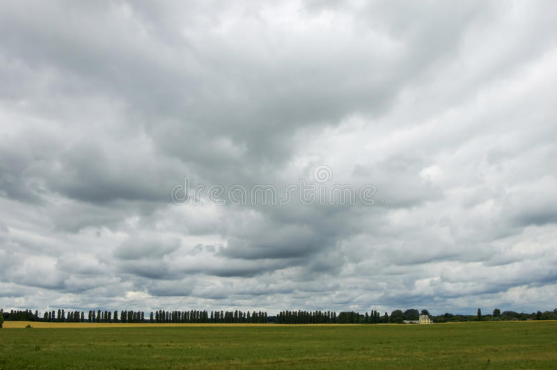 Download Overcast Skies Before The Rain. Stock Image - Image: 13531427