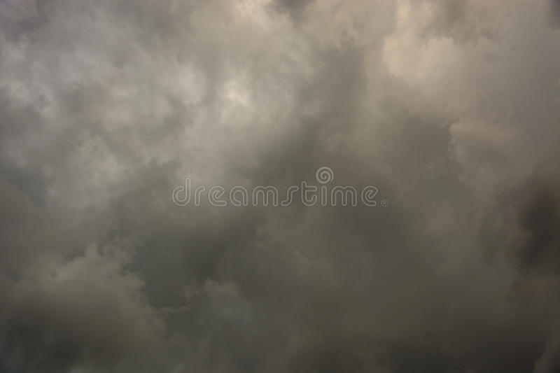 Overcast sky with dark clouds. Cloudy skies and the best raw materials stock photos