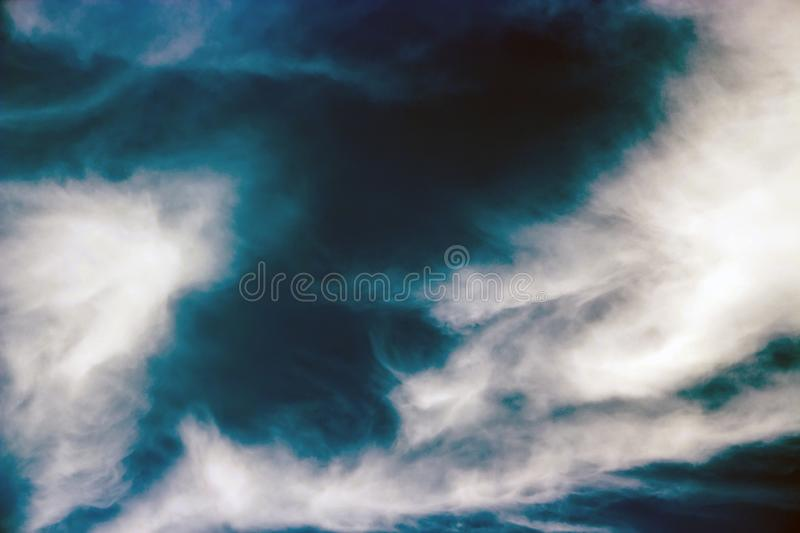 Overcast sky like a storm is coming. Overcast sky like a storm is coming in Thailand royalty free stock photo