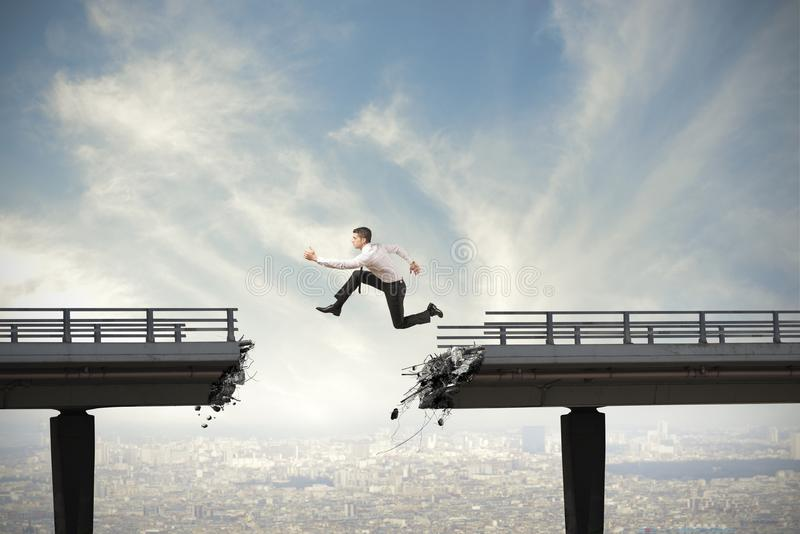 Overcome the difficulties stock photos