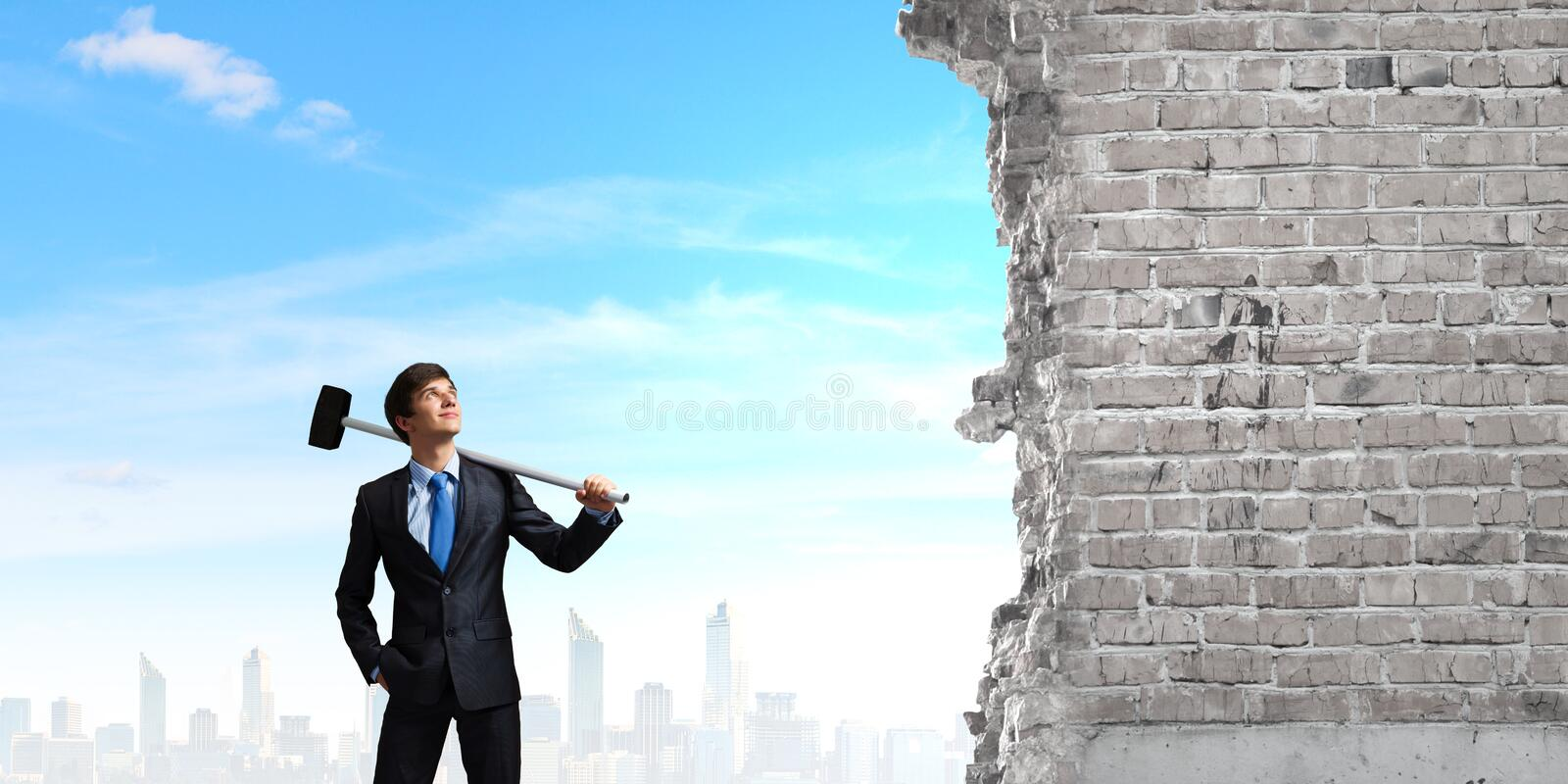Download Overcoming Challenges Stock Photo - Image: 41890726