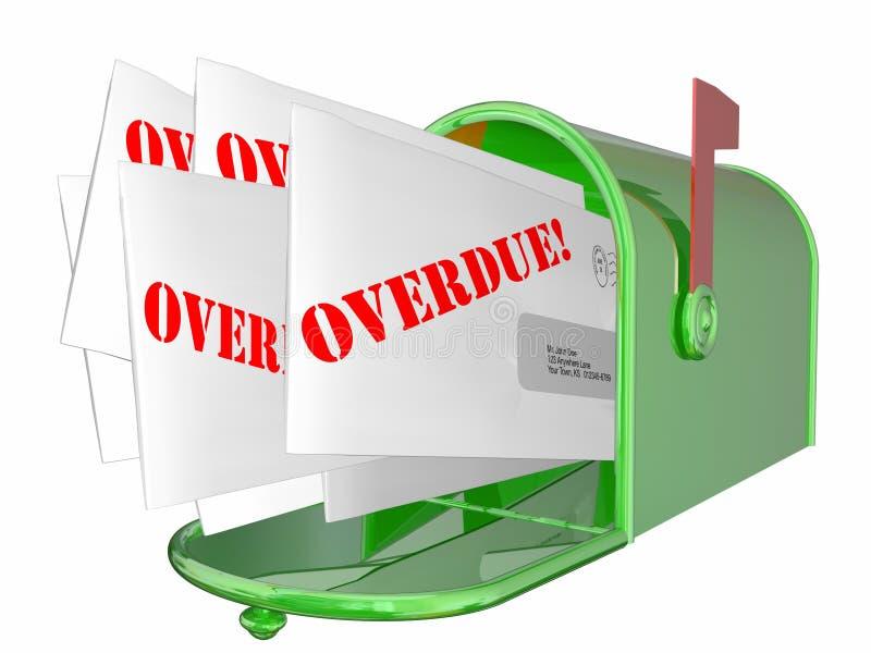 overdue bill letter