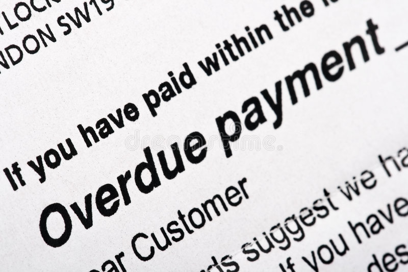 Download Overdue Payment Bill stock photo. Image of credit, cost - 8522784